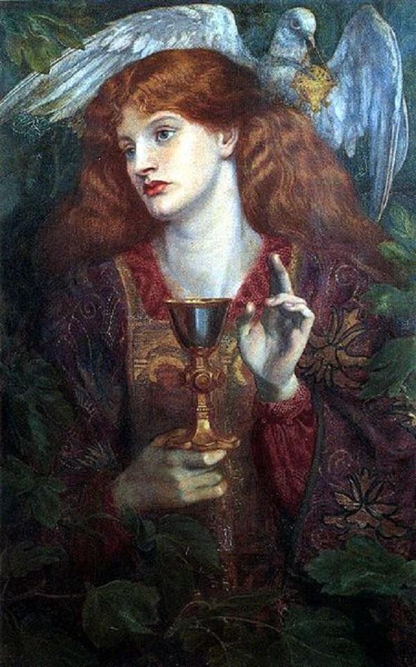 Holy Grail, 1874, Dante Gabriel Rossetti